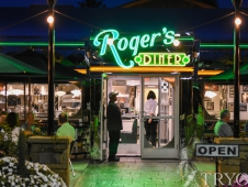Rogers Diner Exterior